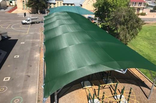 Barrel vault shelter Wallaroo Primary School Yorke Peninsula SA 3