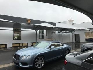 Zagame Showroom Weathersafe Car Park Structures