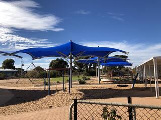 Weathersafe Claw Shade Structure