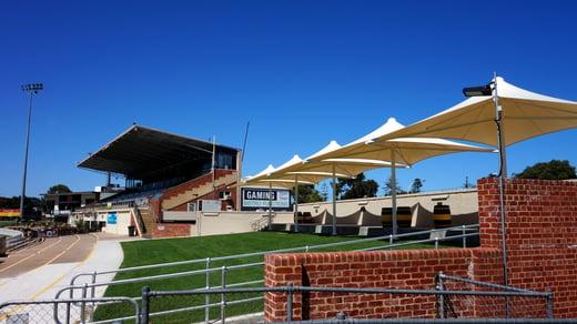 Permanent Umbrellas Glenelg Oval - City of Holdfast Bay SA4 copy