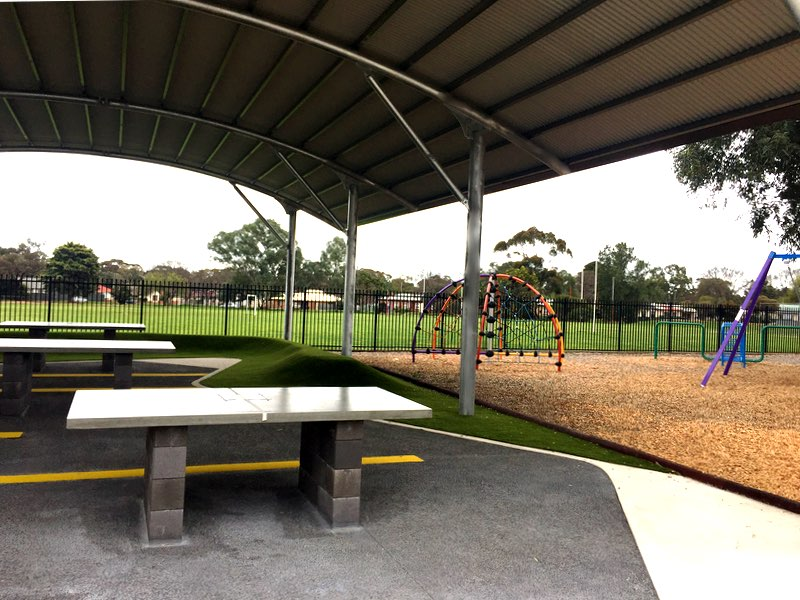 cola structure outdoor learning area Elizabeth Vale primary school city of Playford south australia weathersafe build design sa 2
